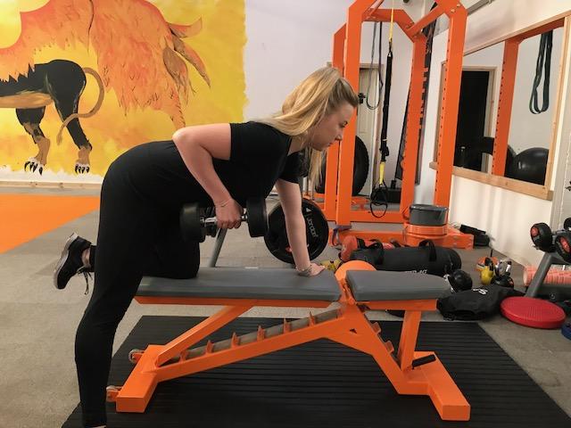 single arm row | training | leicester